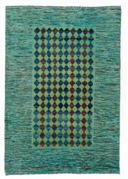 Sale 8800C - Lot 136 - A Striped Afghan Gabbeh Floor Rug, Hand Knotted And Naturally Dyed, 131 x 192cm