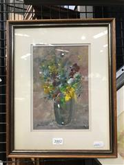 Sale 8990 - Lot 2002 - Stephen Tandori Still Life, oil on board, frame: 35 x 27 x 2 cm, signed lower left