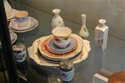 Sale 7953 - Lot 47 - Assorted Porcelain Incl. Pair Of Egg Coddlers by Royal Worcester & Wedgewood Ice Rose Pair of Vases