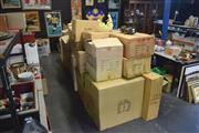 Sale 8189 - Lot 2136 - Large Collection of Boxes Inc Cushions, Figures, Lamps and Stands Etc