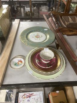 Sale 9101 - Lot 2219 - A Collection Of Ceramics Incl Minton Cabinet Plate