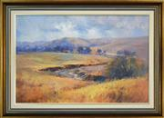 Sale 8309 - Lot 596 - John Sharman (1939 - ) - Crudine Pastoral 60 x 90cm