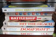 Sale 8365 - Lot 96 - Vintage Hit the Beach Board Game with others, incl. Stock Market Game
