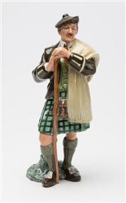 Sale 8473A - Lot 5 - A Royal Doulton figure, The Laird, H.N. 2361, height 21cm