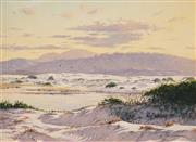 Sale 8597 - Lot 507 - Les Graham (1942 - ) - Sun Down at Ryans Cut, Crescent Head, Kampsey 22 x 29.5cm