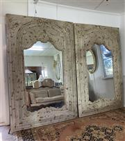 Sale 8972H - Lot 28 - A Large composite French style mirror, Height 2.23m x Width 1.47m