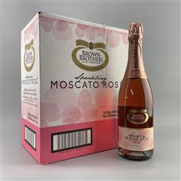 Sale 9257W - Lot 956 - 6x 2020 Brown Brothers Sparkling Moscato Rose, Voctoria