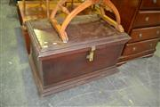Sale 8093 - Lot 1296 - Rustic Timber Blanket Box