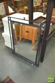 Sale 8331 - Lot 1337 - Metal Framed Mirror