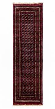 Sale 8800C - Lot 139 - An Afghan Mori Gul Finely Woven And Hand Knotted Tribal Wool Rug, 83 x 300cm