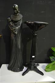 Sale 8058 - Lot 1010 - African Statue on Stand