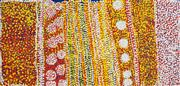 Sale 8535 - Lot 546 - Tommy Watson (c1935 - 2017) - Kapi Pulka, 2004 53 x 111cm (stretched & ready to hang)