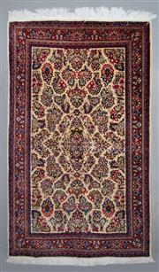 Sale 8545C - Lot 77 - Super Fine Persian Tabriz 210cm x 130cm