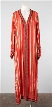 Sale 8740F - Lot 70 - An Indian silk and gold gown