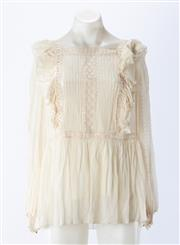 Sale 8910F - Lot 3 - A Zimmermann Rife Dandelion Blouse, as new with tags (RRP $495), size 10