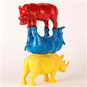 Sale 9047A - Lot 5070 - Gillie and Marc - They Saw the World Filled With Colour H: 30 x L: 24 x W: 9 cm (weight: 1 kgs)