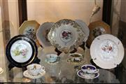 Sale 8081 - Lot 95 - Paragon Display Plate with Other Ceramics including Teapots
