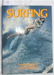 Sale 8431B - Lot 32 - Sam George. Surfrider, Bison Group 1992. Hardback with dust wrapper, 112 pages