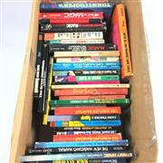 Sale 8539M - Lot 276 - Box of Books on Stage and Card Magic
