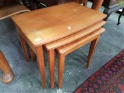 Sale 8566 - Lot 1298 - Nest of 3 Tables