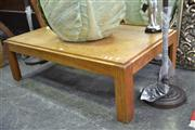 Sale 7981A - Lot 1025 - Oak Coffee Table