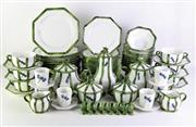 Sale 8869 - Lot 30 - A Large Italian Dinner Service Inc Serving Dishes, Utensils and Napkin Rings (Pattern No 70055 Costa)
