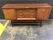 Sale 9039 - Lot 1062 - Art Deco Elevated Sideboard with Central Drawers