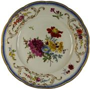 Sale 8065 - Lot 62 - Meissen Academic 18th Century Plate