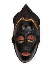 Sale 8321 - Lot 601 - Mask (Zaire, Africa)