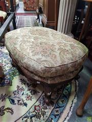 Sale 8566 - Lot 1326 - Upholstered Foot Stool