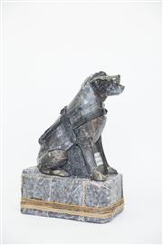 Sale 8479G - Lot 19 - Ruth Levine - Tactile Pooch. This is my tribute to the intelligent and responsible, all seeing Guide Dog. My aim was to combine vi...