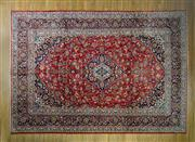 Sale 8372C - Lot 4 - A Persian Kashan, 425 x 295cm