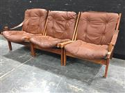 Sale 8967 - Lot 1009 - Set of Three Hunter Chairs by Torbjorn Afdal (H:78 W:64cm)
