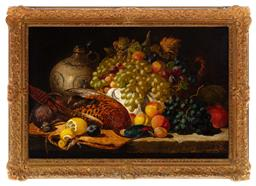 Sale 9190H - Lot 220 - Charles Thomas Bale (1849-1926), still life with game, oil on canvas, SLR, 52cm x 77cm