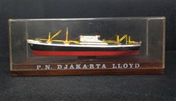Sale 9254 - Lot 2147 - Timber display boat