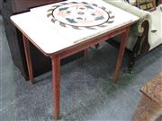 Sale 7972A - Lot 1063 - Laminate Top Kitchen Table