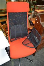 Sale 8115 - Lot 1116 - Markus Office Chair w Lower Back Support
