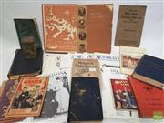 Sale 8900 - Lot 45 - Ephemera incl. Hercats Card Tricks & Conjuring up to date; Browne, C.W.A. Get Back to Nature & Live; An Englishmans Home from...