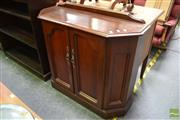 Sale 8489 - Lot 1052 - Timber Hall Cabinet with Two Doors
