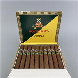 Sale 9217A - Lot 890 - Montecristo Open Junior Cuban Cigars - box of 20 cigars, stamped June 2020