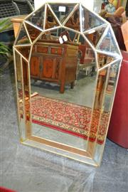 Sale 8175 - Lot 1086 - Arched Mirror Framed Mirror