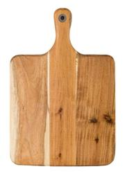 Sale 8795B - Lot 54 - Laguiole Louis Thiers Wooden Serving Board w Handle, 39 x 26cm