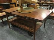 Sale 8643 - Lot 1122 - G-Plan Afromosia Extension Table