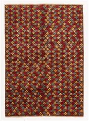 Sale 8800C - Lot 146 - An Afghan Gabbeh Floor Rug, Naturally Dyed And Hand Knotted, 125 x 186cm