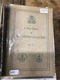 Sale 9101 - Lot 2274 - Short History of New South Wales Mounted Rifles 1888-1913