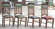 Sale 8319 - Lot 331 - Set of 4 matching stand chairs (previous lot)
