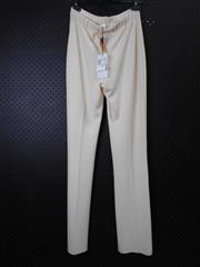 Sale 8514H - Lot 80 - Stizzoli Italy Cream Woolen Pants - UK size 10
