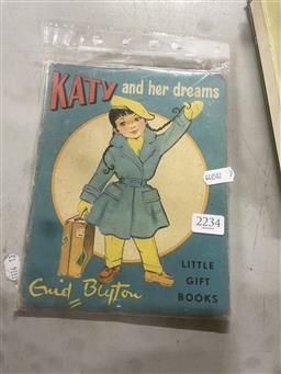 Sale 9101 - Lot 2234 - Blyton, Enid Katy & Her Dreams, ill. Jeanne Hives, pub. Little Gift Books, 1958