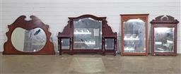 Sale 9188 - Lot 1271 - Collection of 4 timber framed mirrors