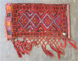 Sale 9215 - Lot 1500 - Persian hand knotted pure wool Tent Pillow (90 x 60cm)